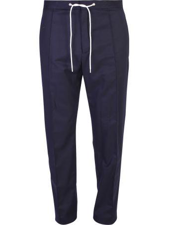 Kenzo Blue Drawstring Trousers