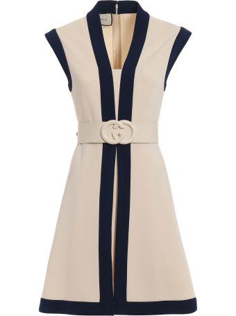 Gucci Compact Str Viscose Dress