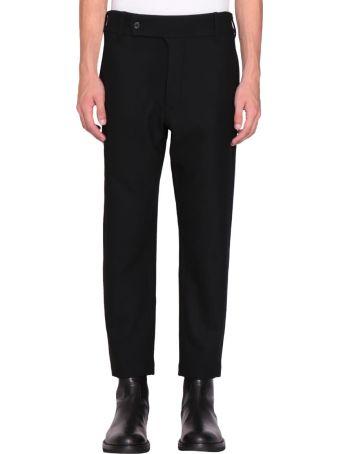 Ann Demeulemeester Black Wool Howard Trousers