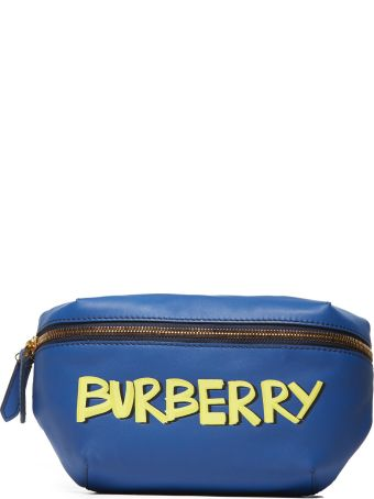 Burberry Logo Embossed Belt Bag