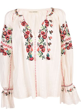 Ulla Johnson Embroidery Blouse