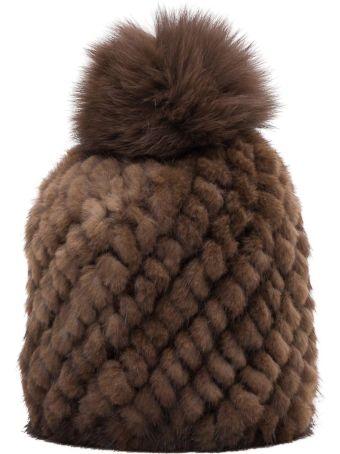 Max Mara Delia Mink And Fox-fur Hat