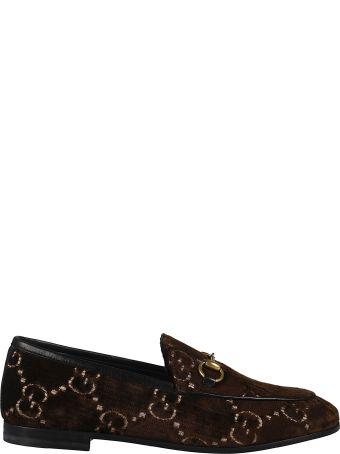 Gucci Jordaan Gg Loafers