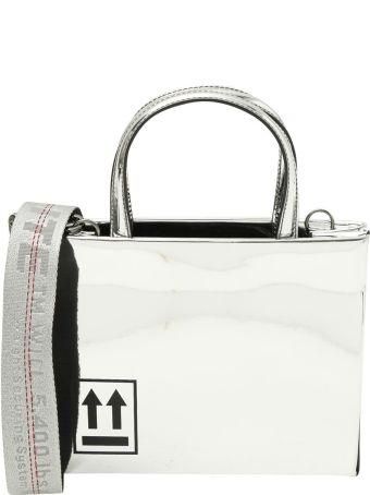 Off-White 'box Bag' Mini Borsa A Mano Mirror