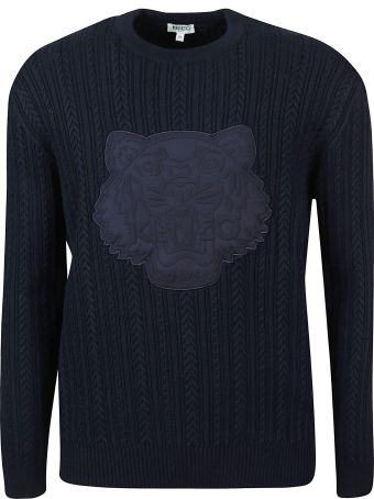 Kenzo Embroidered Tiger Knitted Sweater