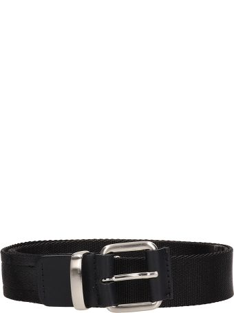 Low Brand Black Fabric Belt