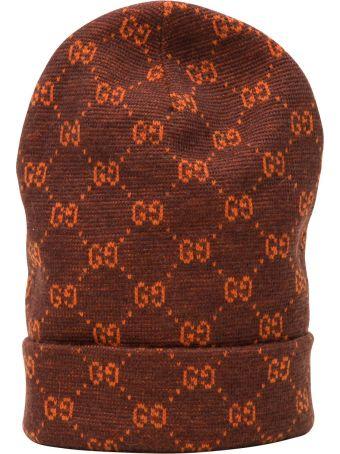 Gucci Cappello Hogy 85%wp 15%wool 100%wool
