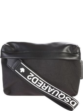 Dsquared2 Nylon And Leather Belt Pack