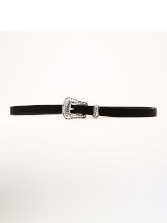 B-Low the Belt Belt Crystal Buckle
