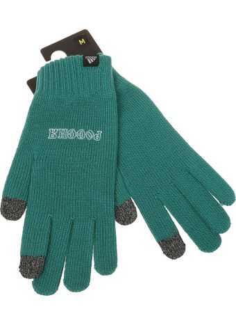 Gosha Rubchinskiy Graphic Slogan Gloves