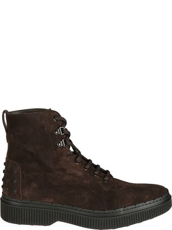 Tod's Field Lace-up Boots