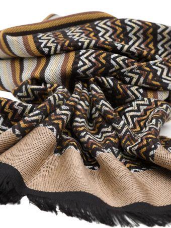 Missoni Multicolor Striped Scarf