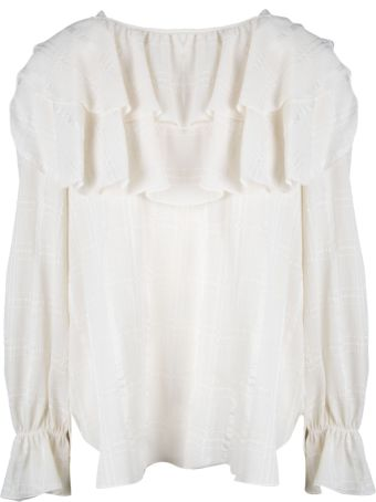 See by Chloé Ruffle Trim Blouse