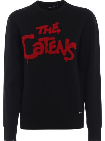 Dsquared2 The Catens Wool Crew Neck