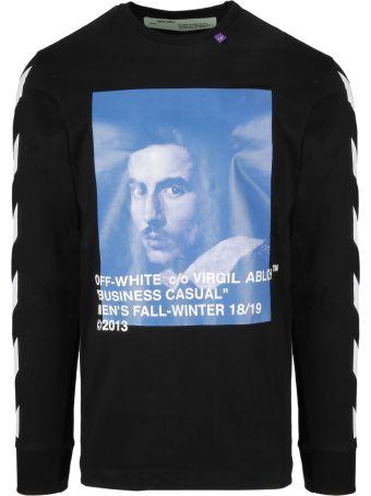 Off-White Graphic Sweater