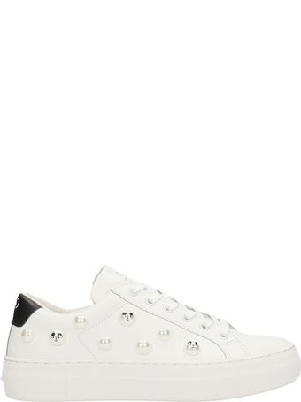 M.O.A. master of arts Faux Pearl-embellished Sneakers