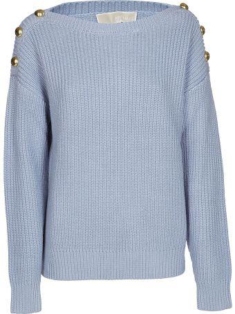 Michael Kors Button Detail Sweatshirt