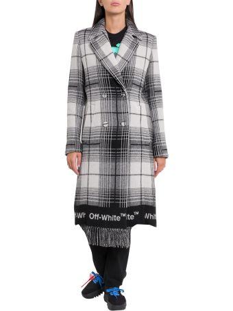 Off-White Cappotto Check Blanket