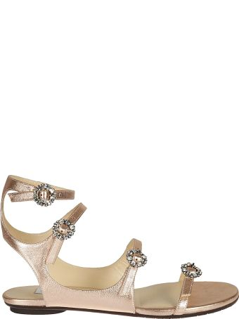 Jimmy Choo Naia Flat Sandals