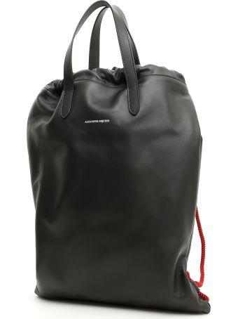 Alexander McQueen Leather Backpack
