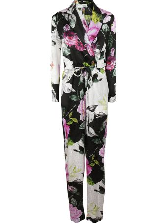 Off-White Off-white Floral Jumpsuit