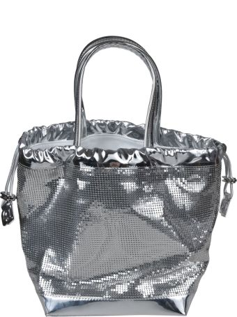 Paco Rabanne Mirrored Bucket Bag