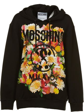 Moschino Floral Oversized Hoodie