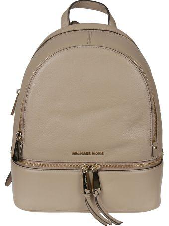 Michael Kors Logo Plaque Backpack