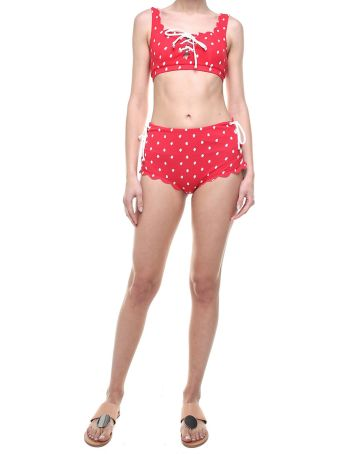 Marysia Swim Palm Springs Lace-up Bikini Briefs