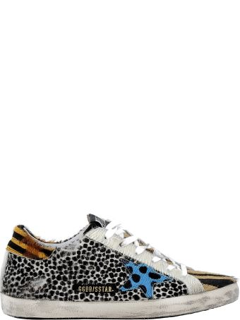Golden Goose Multicolor Leather Sneakers