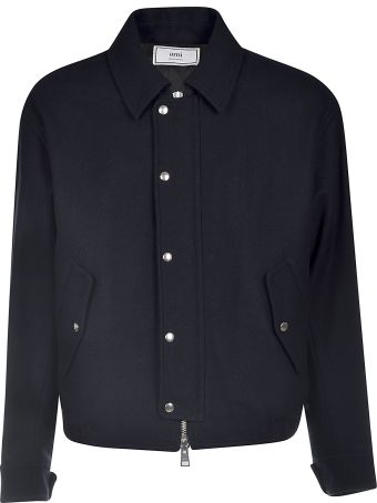 Ami Alexandre Mattiussi Quilted Zipped Jacket