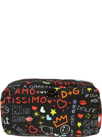 Dolce & Gabbana Printed Zip Around Wallet