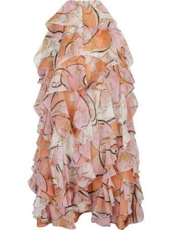 Emilio Pucci Ruffled Dress