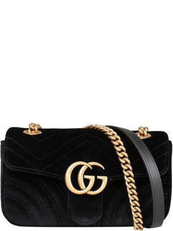 Gucci Gg Marmont Mini Velvet Bag