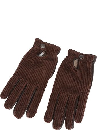 Lardini Ribbed Gloves