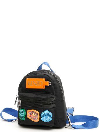 Kenzo Unisex Multi Patch Mini Backpack