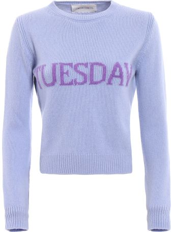 Alberta Ferretti Rainbow Week Sweater
