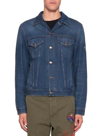 Gucci L'aveugle Par Amour Denim Cotton Jacket