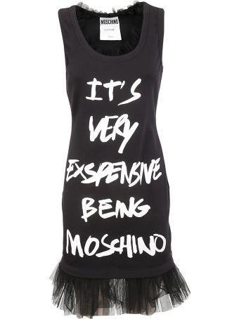 Moschino Printed Tank Dress