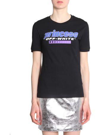 T-shirt With Princess Print