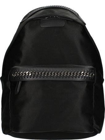 Stella McCartney Black Fabric Backpack