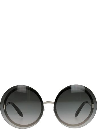 Victoria Beckham Floating Round Sunglasses