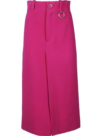 Balenciaga Ring Detail Skirt