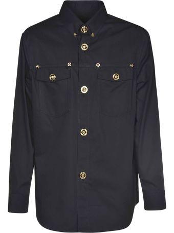 Versace Medusa Button Shirt