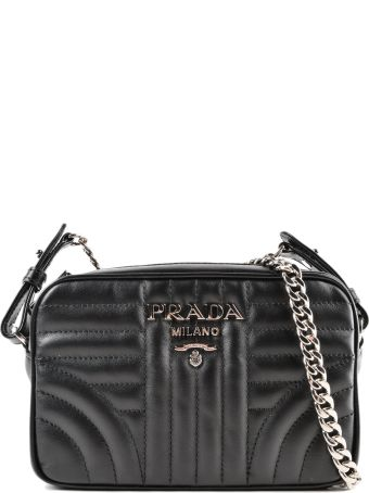 Prada Soft Calf Impunture Crossbody