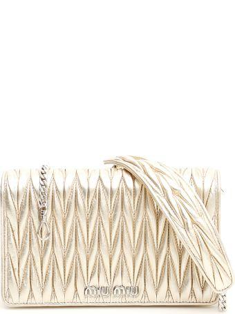 Miu Miu Matelassé Délice Bag
