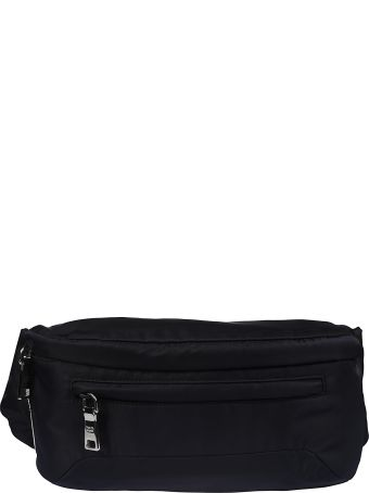 Prada Front Zip Belt Bag
