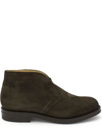 Church's Brown Leather And Suede Ryder 3 Desert Boots.