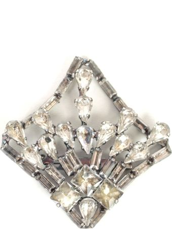 SEMICOUTURE Erika Cavallini Crystal Pin
