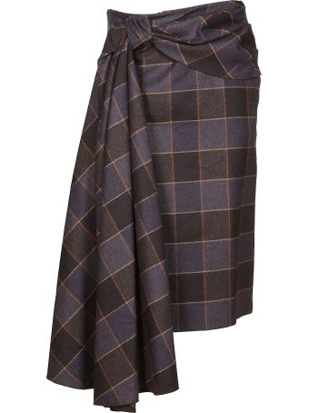 Mulberry Check Skirt